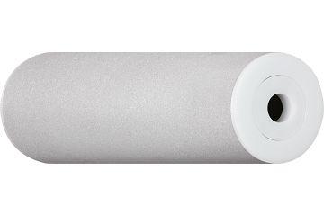 xiros® guide roller, sand blasted aluminium tube with xirodur B180 flange ball bearings
