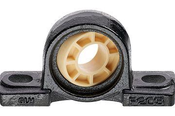 igubal®JEM-SP 基座轴承:带 UC铸造箱体轴承