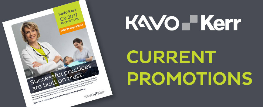 KaVo Kerr current promotions