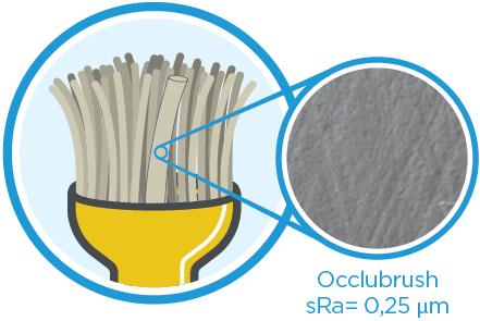 Occlubrush: sRa=0,25um