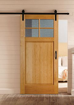 WOOD-2641-Barn-Door-Maple-Fruitwood-Light-Delta-Frost-bty