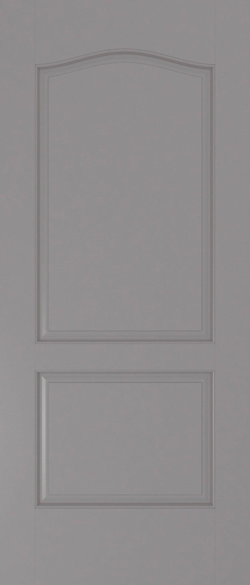 Molded-Panel-Door---Pewter