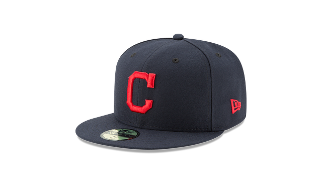 CLEVELAND INDIANS POSTSEASON SIDE PATCH AC 59FIFTY FITTED
