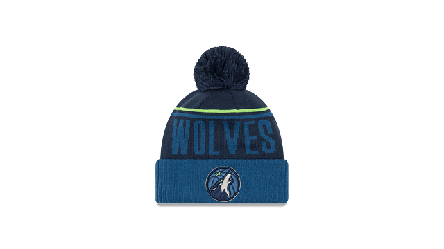 MINNESOTA TIMBERWOLVES JUMBO CHEER KNIT Front view