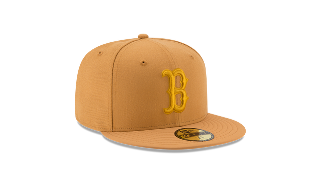 BOSTON RED SOX TAN NUBUCK 59FIFTY FITTED
