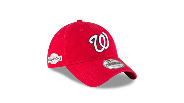 WASHINGTON NATIONALS DIVISION CHAMPIONS SIDE PATCH 9TWENTY ADJUSTABLE