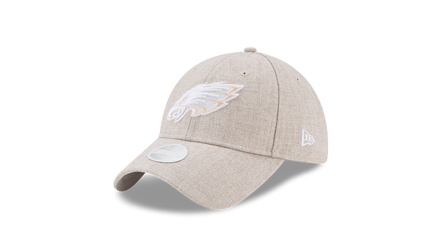 WOMENS PHILADELPHIA EAGLES PREFERRED PICK OATMEAL 9TWENTY ADJUSTABLE