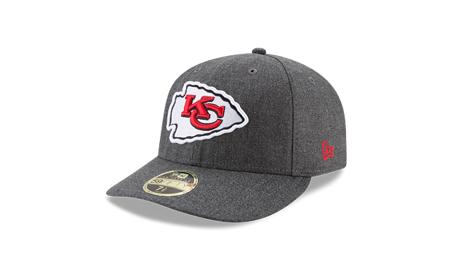 KANSAS CITY CHIEFS CRAFTED IN THE USA LOW PROFILE 59FIFTY FITTED