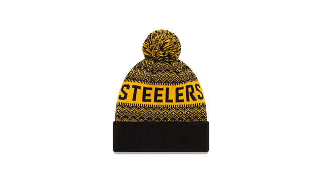 PITTSBURGH STEELERS WINTRY POM KNIT Rear view