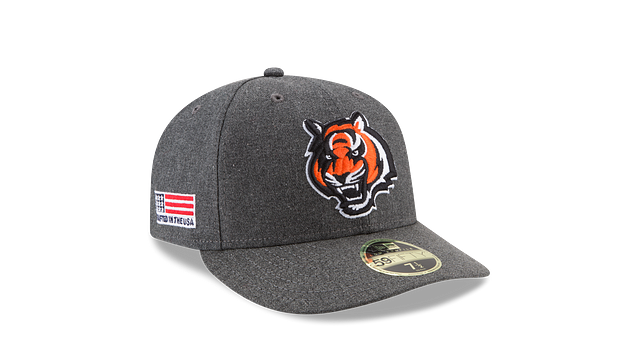 CINCINNATI BENGALS CRAFTED IN THE USA LOW PROFILE 59FIFTY FITTED
