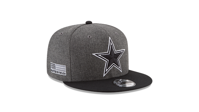 DALLAS COWBOYS CRAFTED IN THE USA - BLACK 9FIFTY SNAPBACK