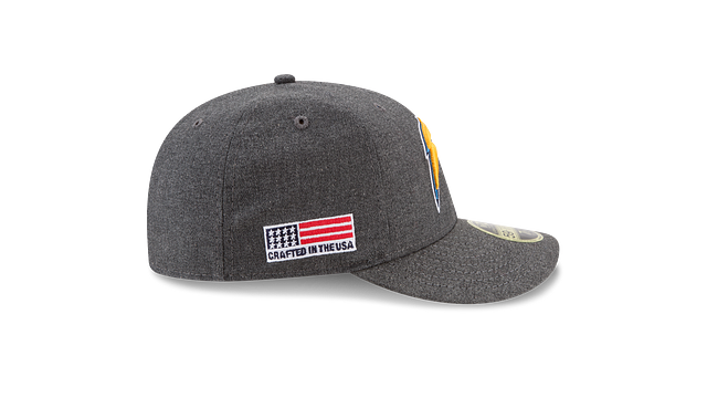 LOS ANGELES CHARGERS CRAFTED IN THE USA LOW PROFILE 59FIFTY FITTED