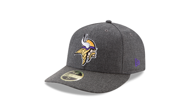 MINNESOTA VIKINGS CRAFTED IN THE USA LOW PROFILE 59FIFTY FITTED