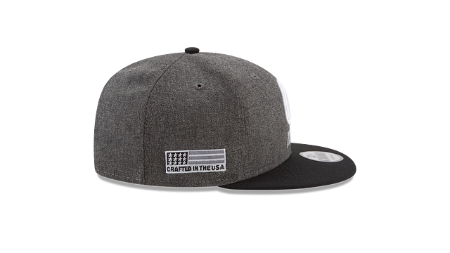 GREEN BAY PACKERS CRAFTED IN THE USA - BLACK 9FIFTY SNAPBACK