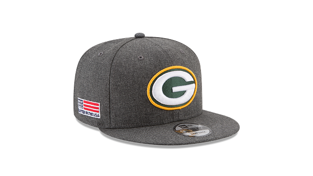 GREEN BAY PACKERS CRAFTED IN THE USA 9FIFTY SNAPBACK