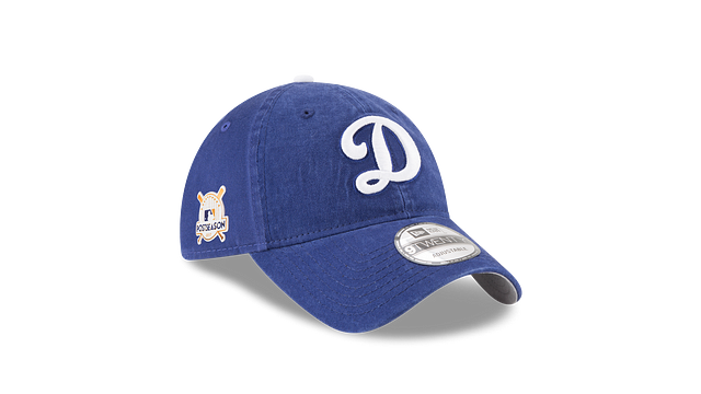 LOS ANGELES DODGERS POSTSEASON SIDE PATCH 9TWENTY ADJUSTABLE