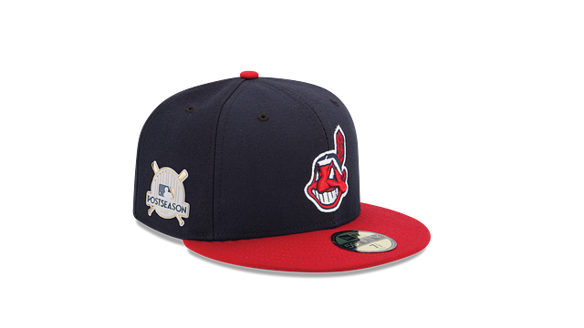 KIDS CLEVELAND INDIANS POSTSEASON SIDE PATCH AC 59FIFTY FITTED