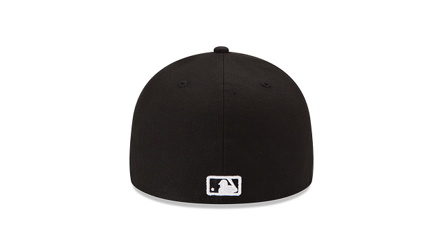 CHICAGO CUBS BLACK & WHITE 59FIFTY FITTED