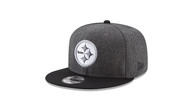 PITTSBURGH STEELERS CRAFTED IN THE USA - BLACK 9FIFTY SNAPBACK