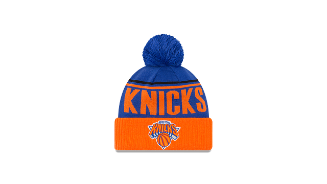 NEW YORK KNICKS JUMBO CHEER KNIT Front view