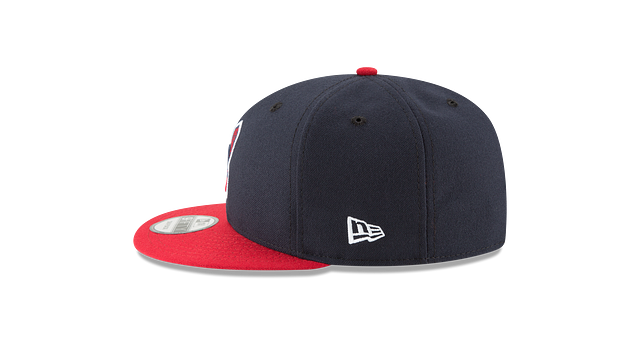 CLEVELAND INDIANS DIVISION CHAMPIONS SIDE PATCH 9FIFTY SNAPBACK