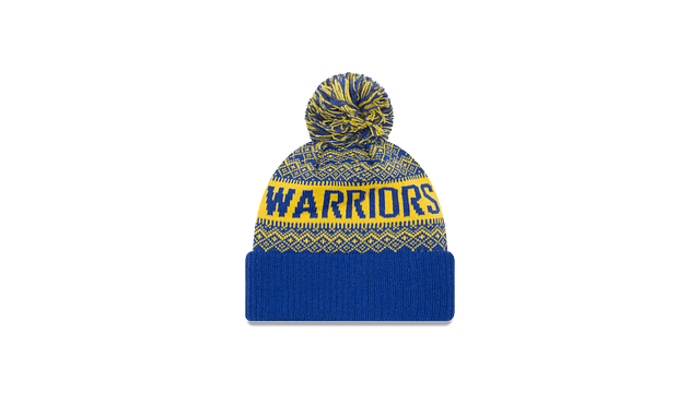 GOLDEN STATE WARRIORS WINTRY POM KNIT Rear view