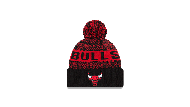 CHICAGO BULLS WINTRY POM KNIT Front view