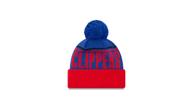 LOS ANGELES CLIPPERS JUMBO CHEER KNIT Rear view