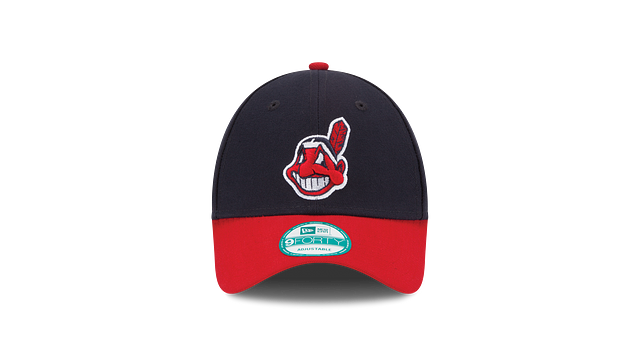 KIDS CLEVELAND INDIANS POSTSEASON SIDE PATCH 9FORTY ADJUSTABLE