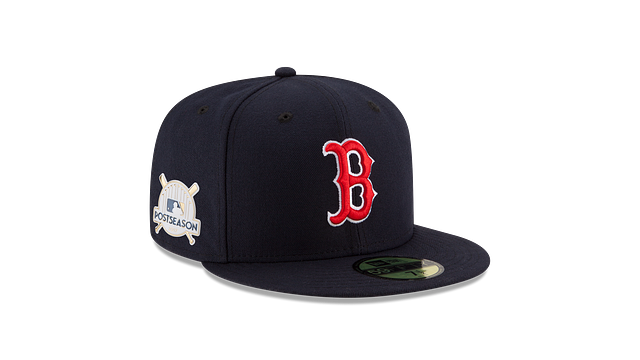 BOSTON RED SOX POSTSEASON SIDE PATCH AC 59FIFTY FITTED