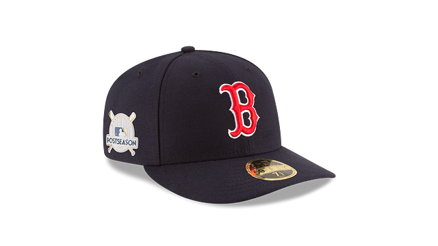 BOSTON RED SOX POSTSEASON SIDE PATCH AC LOW PROFILE 59FIFTY FITTED