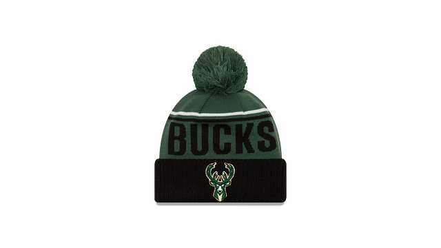 MILWAUKEE BUCKS JUMBO CHEER KNIT Front view
