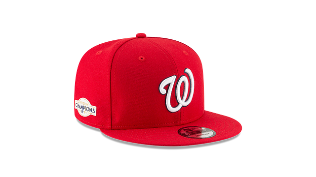 WASHINGTON NATIONALS DIVISION CHAMPIONS SIDE PATCH 9FIFTY SNAPBACK