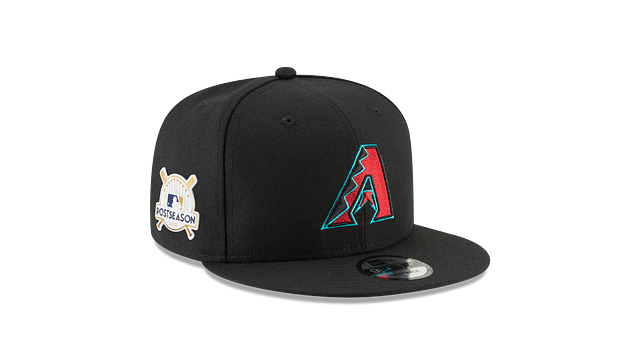 ARIZONA DIAMONDBACKS POSTSEASON SIDE PATCH 9FIFTY SNAPBACK