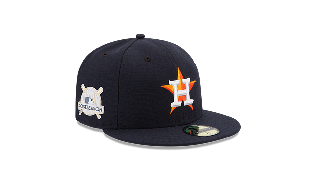 KIDS HOUSTON ASTROS POSTSEASON SIDE PATCH AC 59FIFTY FITTED