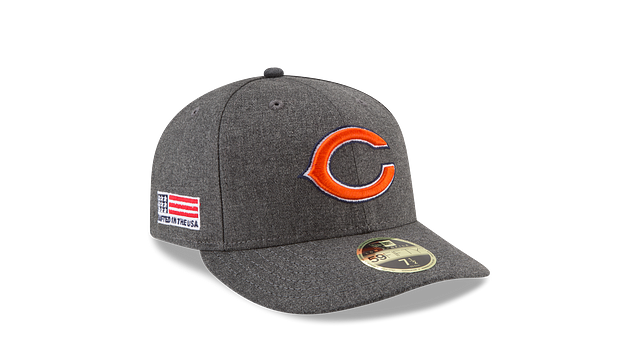 CHICAGO BEARS CRAFTED IN THE USA LOW PROFILE 59FIFTY FITTED