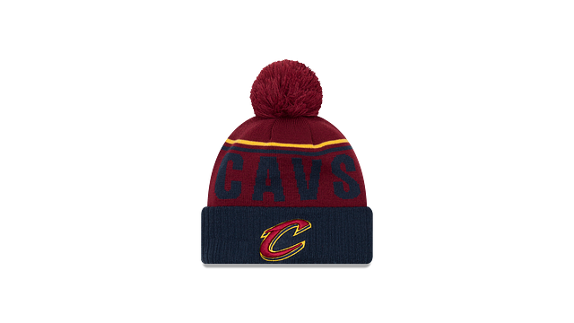 CLEVELAND CAVALIERS JUMBO CHEER KNIT Front view