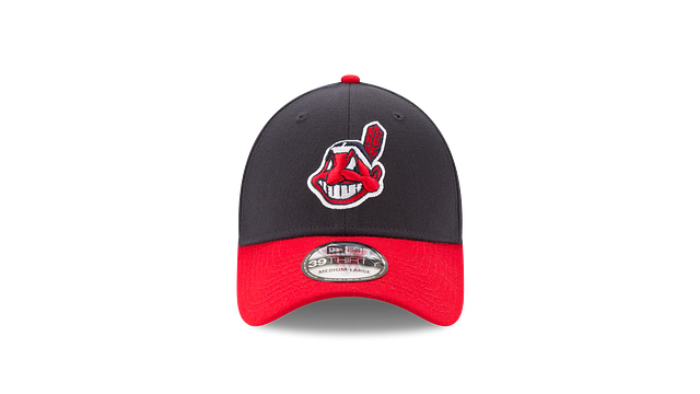 CLEVELAND INDIANS DIVISION CHAMPIONS SIDE PATCH 39THIRTY STRETCH FIT