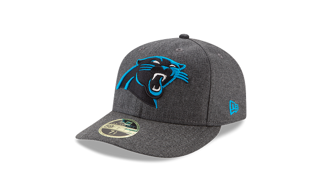 CAROLINA PANTHERS CRAFTED IN THE USA LOW PROFILE 59FIFTY FITTED