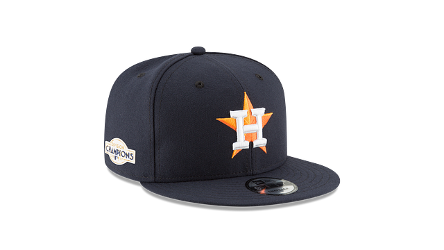 HOUSTON ASTROS DIVISION CHAMPIONS SIDE PATCH 9FIFTY SNAPBACK