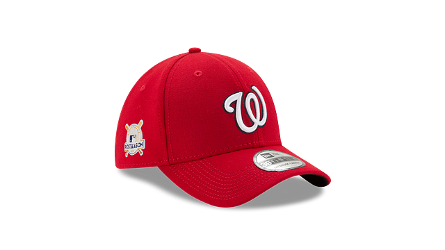 WASHINGTON NATIONALS POSTSEASON SIDE PATCH 39THIRTY STRETCH FIT