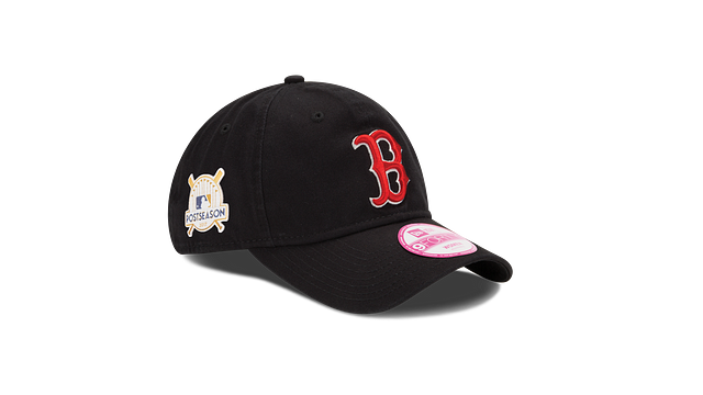 WOMENS BOSTON RED SOX POSTSEASON SIDE PATCH 9TWENTY ADJUSTABLE