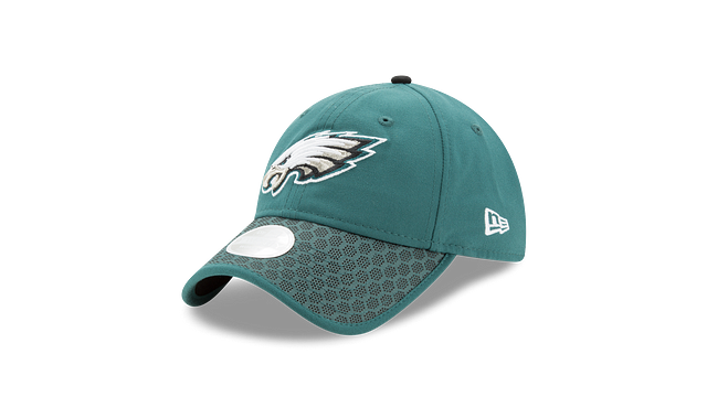 WOMEN'S PHILADELPHIA EAGLES OFFICIAL SIDELINE 9TWENTY ADJUSTABLE