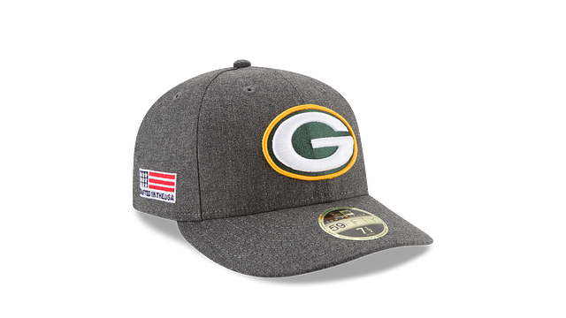 GREEN BAY PACKERS CRAFTED IN THE USA LOW PROFILE 59FIFTY FITTED
