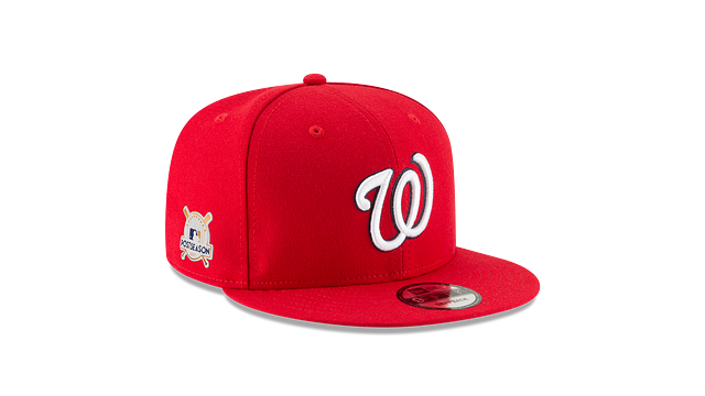 WASHINGTON NATIONALS POSTSEASON SIDE PATCH 9FIFTY SNAPBACK