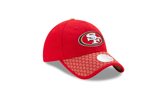 WOMENS SAN FRANCISCO 49ERS OFFICIAL SIDELINE 9TWENTY ADJUSTABLE 3 quarter right view