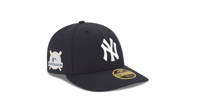 NEW YORK YANKEES POSTSEASON SIDE PATCH AC LOW PROFILE 59FIFTY FITTED