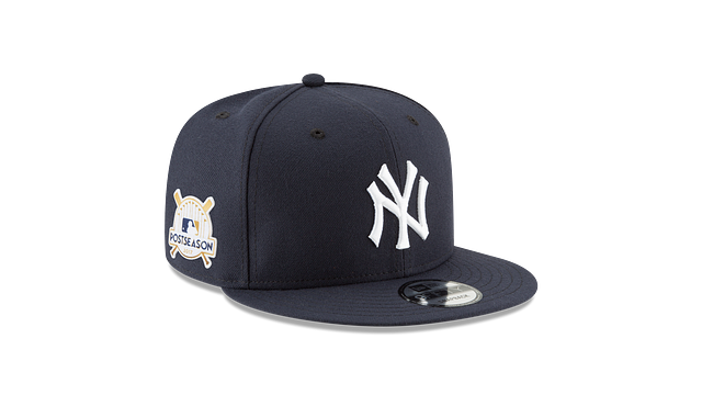 NEW YORK YANKEES POSTSEASON SIDE PATCH 9FIFTY SNAPBACK