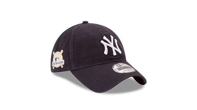 NEW YORK YANKEES POSTSEASON SIDE PATCH 9TWENTY ADJUSTABLE