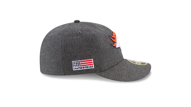 DENVER BRONCOS CRAFTED IN THE USA LOW PROFILE 59FIFTY FITTED